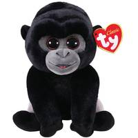 Ty Beanie Baby Med Bo the Silverback Gorilla from Blain's Farm and Fleet