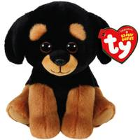 Ty Beanie Baby Trevour the Dog from Blain's Farm and Fleet