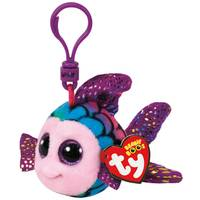 Ty Beanie Boo Clip Flippy the Rainbow Fish from Blain's Farm and Fleet