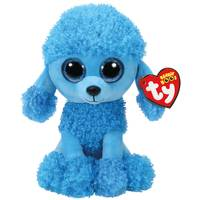 Ty Beanie Boo Med Mandy the Blue Poodle from Blain's Farm and Fleet