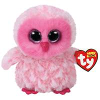 Ty Beanie Boo Twiggy the Pink Owl from Blain's Farm and Fleet