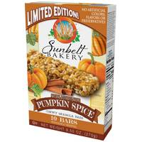 Sunbelt Bakery Pumpkin Spice Granola Bars from Blain's Farm and Fleet