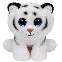 Ty Beanie Baby Large Tundra The White Leopard from Blain's Farm and Fleet