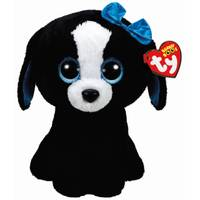 Ty Beanie Boos Black and White Dog from Blain's Farm and Fleet