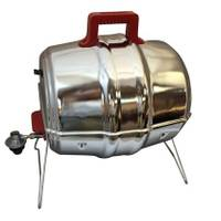 Keg-a-Que Gas Grill with 3-1 Heat Shield from Blain's Farm and Fleet