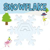 Simon & Schuster Snowflake Board Book from Blain's Farm and Fleet