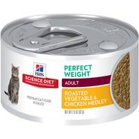 Hill's Science Diet 2.9 oz Diet Adult Perfect Weight Roasted Chicken and Vegetable Medley Cat Food from Blain's Farm and Fleet
