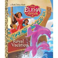 Golden Books Disney Elena of Avalor Royal Vacation from Blain's Farm and Fleet