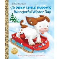 Golden Books The Poky Little Puppy's Wonderful Winter Day from Blain's Farm and Fleet