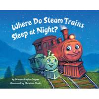 Golden Books Where Do Steam Trains Sleep at Night? Book from Blain's Farm and Fleet