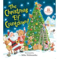 Golden Books The Christmas Elf Countdown Book from Blain's Farm and Fleet