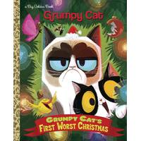 Golden Books Grumpy Cat's First Worst Christmas Book from Blain's Farm and Fleet