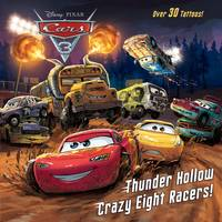 Golden Books Disney Cars 3 Thunder Hollow Crazy Eight Racers Book from Blain's Farm and Fleet