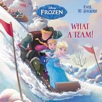 Golden Books Disney Frozen What a Team Book from Blain's Farm and Fleet