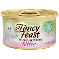 Fancy Feast Kitten Tender Turkey Feast from Blain's Farm and Fleet