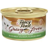 Fancy Feast Gravy Lovers Salmon Feast in Seared Salmon Flavor Gravy from Blain's Farm and Fleet
