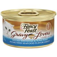 Fancy Feast Gravy Lovers Ocean Whitefish & Tuna Feast in Sauteed Seafood Flavor Gravy from Blain's Farm and Fleet