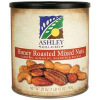 Ashley Hill Acres Honey Roasted Mixed Nuts from Blain's Farm and Fleet