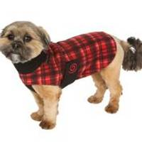 Ultra Paws Red Plaid Cozy Coat for Dogs from Blain's Farm and Fleet