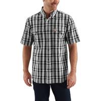 Carhartt Men's Short Sleeve Fort Plaid Shirt from Blain's Farm and Fleet