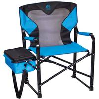 Kings River Black & Blue Monster Director's Chair with Cooler from Blain's Farm and Fleet