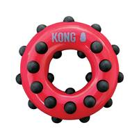 KONG Dotz Circle Small Dog Toy from Blain's Farm and Fleet