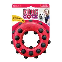 KONG Dotz Circle Large Dog Toy from Blain's Farm and Fleet