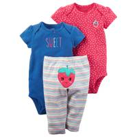 Carter's Baby Girls' 3-Piece Little Character Set from Blain's Farm and Fleet