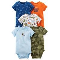 Carter's Baby Boys' 5-Pack Tank-Top Original Bodysuits from Blain's Farm and Fleet