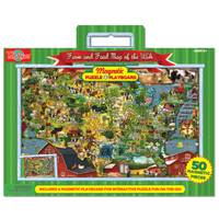 T.S. Shure Food & Farm Magnetic Playboard & Puzzle from Blain's Farm and Fleet