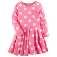 Carter's Toddler Girls' Pink Polka Dot Dress from Blain's Farm and Fleet