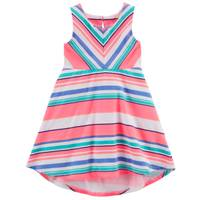 Carter's Sleeveless Jersey Dress Pink & White from Blain's Farm and Fleet