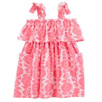 Carter's Sleeveless Ruffle Dress Pink from Blain's Farm and Fleet