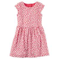 Carter's Toddler Girl's Red Heart Jersey Dress from Blain's Farm and Fleet