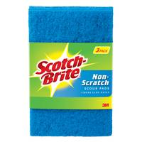 Scotch Scotch-Brite Non-Scratch Scouring Pads 3-Pack from Blain's Farm and Fleet