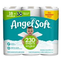Angel Soft Double Roll Bath Tissue - 18 Pack from Blain's Farm and Fleet