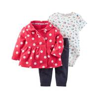 Carter's Infant Girl's White & Red & Blue 3-Piece Little Jacket Set from Blain's Farm and Fleet