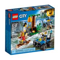 LEGO 60171 City Police Mountain Fugitives from Blain's Farm and Fleet