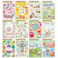Impact Innovations Easter Classic Window Cling Assortment from Blain's Farm and Fleet