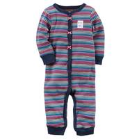 Carter's Little Girls' Footless Sleep & Play Multi Stripe from Blain's Farm and Fleet