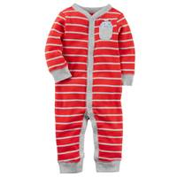 Carter's Baby Boy's Red Snap-Up Sleep & Play Pajamas from Blain's Farm and Fleet