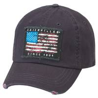 Cat Men's Navy Americana Cap from Blain's Farm and Fleet