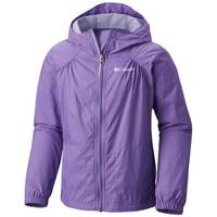Columbia Sportswear Company Girl's Pink Ice Switchback Rain Jacket from Blain's Farm and Fleet