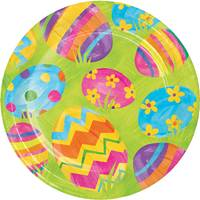 Creative Converting Easter Egg Toss Luncheon Plates from Blain's Farm and Fleet