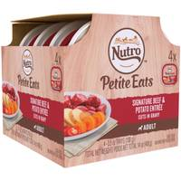 Nutro Petite Eats Adult 4-Count Mult-iPack Dog Food from Blain's Farm and Fleet