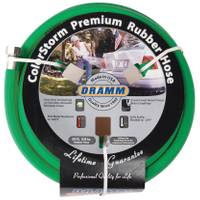 Dramm 50' Green Color Storm Premium Rubber Hose from Blain's Farm and Fleet