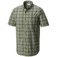 Columbia Sportswear Company Men's Short Sleeve Rapid Rivers II Button Plaid Shirt from Blain's Farm and Fleet