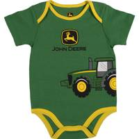 John Deere Boys' Green Short Sleeve Tractor Wrap Bodysuit from Blain's Farm and Fleet