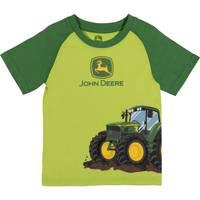 John Deere Boys' Green Short Sleeve Tractor Tee Shirt from Blain's Farm and Fleet
