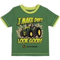 John Deere Boys' Green Short Sleeve I Make Dirt Look Good Tee Shirt from Blain's Farm and Fleet